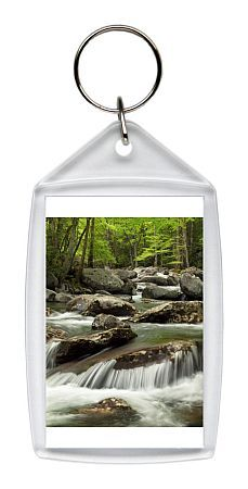 USA, Tennessee, Great Smoky Mountains National Park, Little Pigeon River at Greenbrier