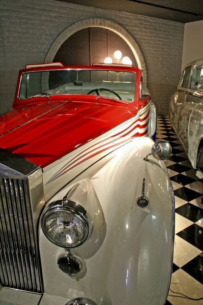 Car collection in The Liberace Foundation and Museum Las Vegas Nevada