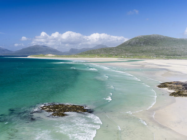 Isle of Harris, part of the island Lewis and Harris in the Outer Hebrides of Scotland