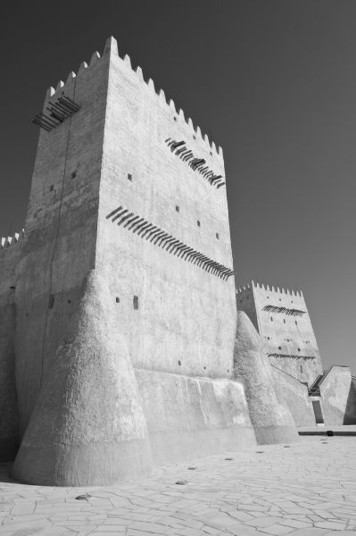 Qatar, Umm Salal, Umm Salal Mohammed. Umm Salal Mohammed Fort (late 19th century)-Barzan Tower, Traditional Arabian Gulf Defensive Structure