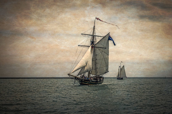 Tall Ships Festival, Digitally Altered (Large format sizes available)