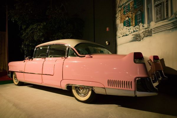 USA, Tennessee, Memphis, Elvis Presley Automobile Collection Museum, Elvis' Pink Cadillac