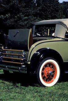 1931 Ford convertible.
