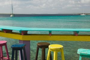 ABC Islands, BONAIRE, Kralendijk: Ocean View form Karel's Pier