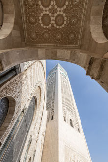africa/africa morocco casablanca close up mosque