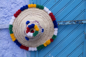 africa/morocco/africa morocco chefchaouen traditional hat