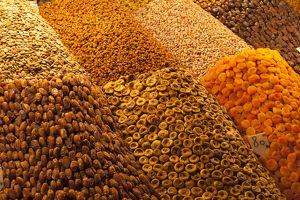 africa/morocco/africa morocco marrakech dried fruits nuts