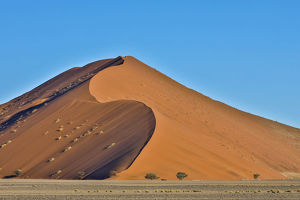 Africa, Namibia, Sossusvlei Dunes in the Afternoon Light