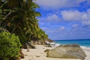 Anse Victorin Beach on Fregate Island