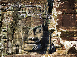 Asia;Cambodia;Angkor Watt;Siem Reap;Faces of the Bayon Temple