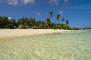 Beach at Desroches Resort, Desroches Island