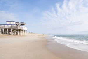 Beach near Kitty Hawk, Outer Banks, North Carolina, USA