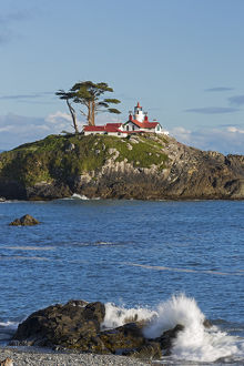 CA, Crescent City, Battery Point Lighthouse