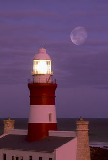 Cape Agulhas Lighthouse, Southernmost Point of Africa, South Africa