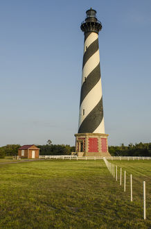 Cape Hatteras Light Station, Hatteras Island, Outer Banks, North Carolina, USA