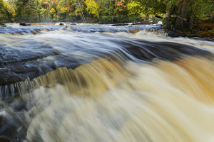 Cascade on lower section of Tahquamenon Falls, Tahquamenon Falls State Park, Upper