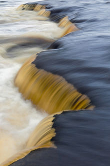 Cascade above Tahquamenon Falls, Tahquamenon Falls State Park, Upper Peninsula, Michigan
