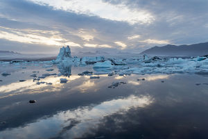 Europe, Iceland, Southeast Iceland, Vatnajohull National Park--South, Skaftafell
