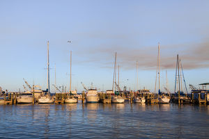 Fulton Harbor and recreational boats