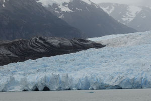 Grey Glacier, Torres del Paine National Park, Chile, South America.Patagonia, Patagonia