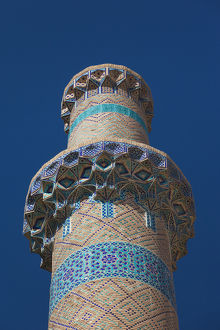Iran, Central Iran, Natanz, Jameh Mosque, minaret