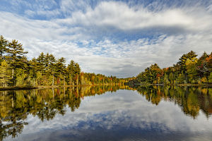 Irwin Lake, Hiawatha National Forest, Upper Peninsula of Michigan