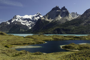 Largo Nordenskjold, Torres del Paine National Park, Chile, Patagonia, South