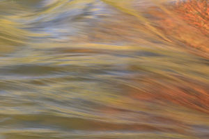 abstract/lower deschutes river central oregon usa