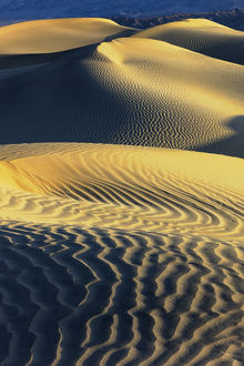 Mesquite Sand Dunes. Death Valley. California