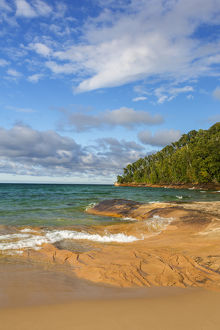 Michigan, Pictured Rocks National Lakeshore, Miners Beach