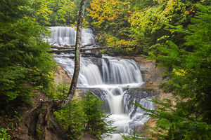 Michigan, Pictured Rocks National Lakeshore, Sable Falls