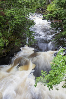 Michigan, Porcupine Mountains Wilderness State Park, Presque Isle River Area
