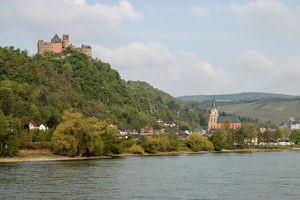 Middle Rhine is a UNESCO World Heritage Site. Germany. Cochem. Germany