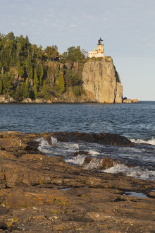 MN, Lake Superior North Shore, Split Rock Lighthouse; 1910