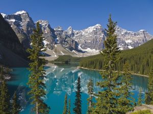 Moraine Lake, Canadian Rockies, Alberta, Canada