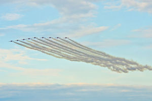 North America, USA, Wisconsin, Oshkosh, AirVenture 2016, Canadian Air Force Snowbirds