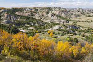 North Dakota, Theodore Roosevelt National Park, South Unit, Painted Canyon