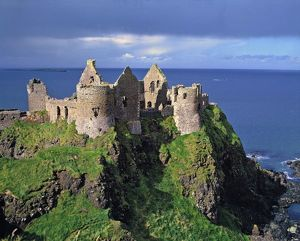 northern ireland county antrim dunluce castle