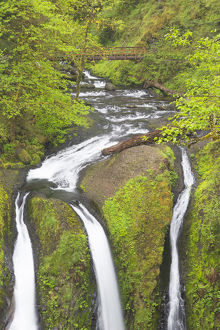 OR, Columbia River Gorge National Scenic Area, Triple Falls