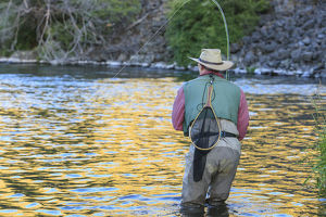 places/people fly fishing lower deschutes river central