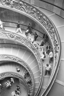 Rome Italy, Vatican Staircase