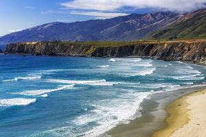 Sand Dollar Beach, Los Padres National Forest, Big Sur, California USA