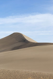 Sand dune formations. Bruneau Dunes State Park, ID