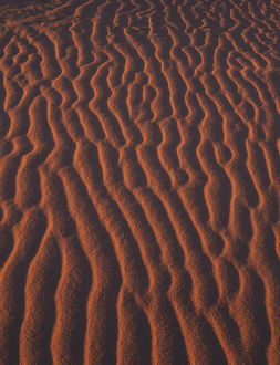 africa/sand patterns near hermanus beach south africa