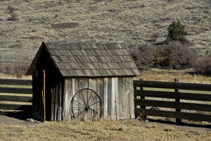 places/shed wheel james ranch john day fossil beds