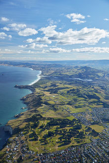 St Clair Golf Club, St Clair Park, Dunedin, Otago, South Island, New Zealand - aerial
