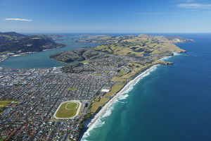 St Clair and St Kilda Beaches, Otago Harbour and Otago Peninsula, Dunedin, Otago
