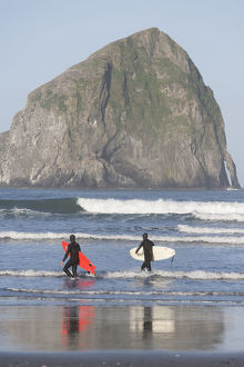 places/surfers haystack rock cape kiwanda state park