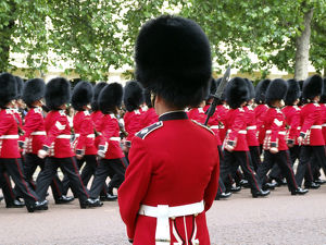 trooping colour london england
