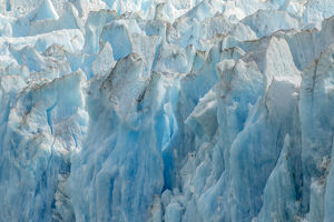 USA, Alaska, Endicott Arm. Close-up of Dawes Glacier front
